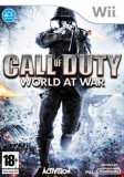 Call Of Duty World At War Nintendo Wii, Shooting, 18+, Activision