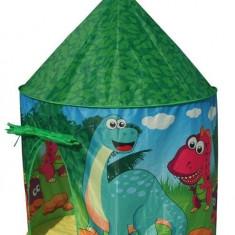 Cort De Joaca Pentru Copii Dino Castel - Casuta copii Knorrtoys