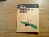 MIRCEA DINESCU - Democratia Naturii - Editura Cartea Romaneasca, 1981, 53 p.