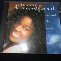 Randy Crawford - Trough The Eyes Of Love _ CD, album, Warner (Germania) - Muzica R&B