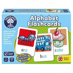Joc Educativ In Limba Engleza Alphabet Flashcards orchard toys