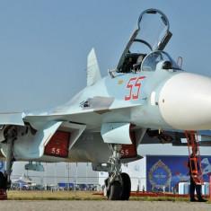 Macheta avion Sukhoi Su-27 SM Flanker - Revell 4937 - Macheta Aeromodel