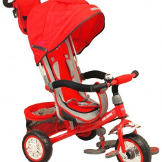 Tricicleta Multifunctionala Sunny Steps Red - Tricicleta copii Baby Mix