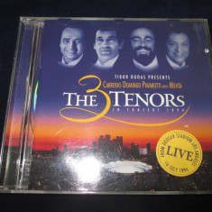 Carreras . Domingo . Pavarotti - The 3 Tenors _ CD, album, teledec (EU) - Muzica Opera Altele
