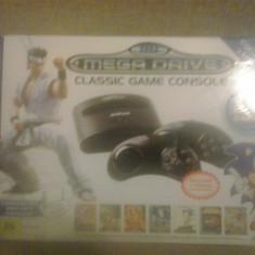 Consola SEGA Mega Drive Collector Edition + 80 de jocuri, Console Sega