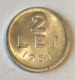 2 LEI 1951 ALUMINIU  STARE AUNC