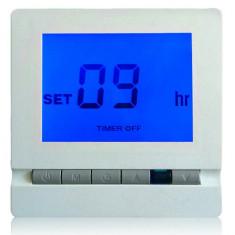 Intrerupator cu termostat programabil ecran LCD si telecomanda 220V