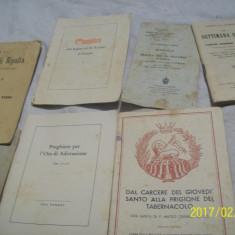 8 carti religioase-lb latina-(ani: 1893, 1901, 1914)