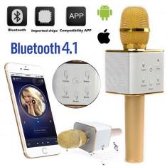 Cumpara ieftin MICROFON WIRELESS PROFESIONAL,SISTEM KARAOKE CU 2 BOXE INCLUSE,BLUETOOTH,USB.NOU