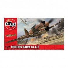 Kit Aeromodele Airfix 01003 Avion Curtiss Hawk 81-A-2 Scara 1:72 - Set de constructie