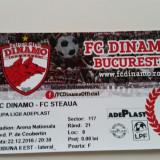 Bilet meci fotbal Dinamo - Steaua 22.12.2016 Cupa Ligii [4-1]