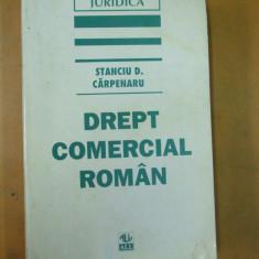 Dreptul comercial Stanciu Carpenaru Bucuresti 1996 - Carte Drept comercial