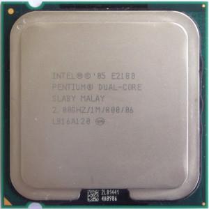 Procesor Intel Dual Core E2180 1M Cache 2.0 GHz 800 MHz FSB