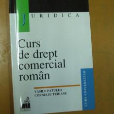 Curs de drept comercial V. Patulea C. Turianu Bucuresti 1999 - Carte Drept comercial