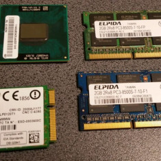Memorie laptop, 4GB SODIMM DDR3 PC3-8500, 2x2GB - Memorie RAM laptop Elpida, 1066 mhz