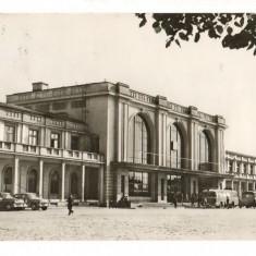CPI (B8109) CARTE POSTALA - PLOIESTI. GARA DE SUD - Carte Postala Muntenia dupa 1918, Circulata, Fotografie