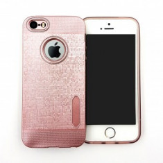 Husa TPU Water Cube Apple iPhone 6G / 6S ROSE GOLD