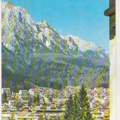 Bnk cp Busteni - Vedere - uzata - Carte Postala Muntenia dupa 1918, Necirculata, Printata