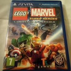 Lego Marvel Super Heroes Universe in Peril, PS Vita, alte sute de jocuri! - Jocuri PS Vita, Actiune, 3+, Single player