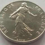Moneda 1/2 Franc / 50 Centimes - FRANTA, anul 1977 *cod 3945 a.UNC