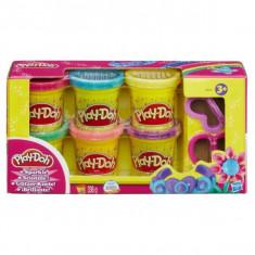 Play-Doh - Pachet 6 Cutii Cu Sclipici - Hba5417
