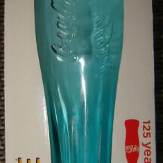 pahar de colectie Coca Cola 125 ani - Verde