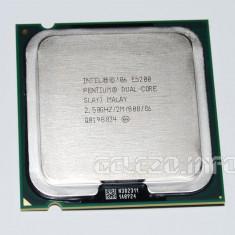 Procesor Intel Dual Core E5200 2M Cache 2.5 GHz  800 MHz FSB, Intel Pentium Dual Core