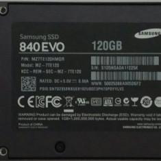 SSD Samsung 120GB 840 EVO in perfecta stare de functionare, SATA 3