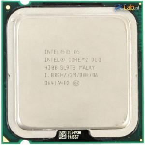 Procesor Intel Core 2 Duo E4300 2M Cache 1.8 GHz  800 MHz FSB