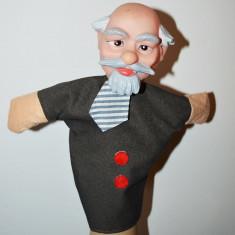 Marioneta papusa manuala teatru papusi: om batran, bunic, Lenin - Jocuri arta si creatie