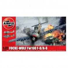 Kit Aeromodele Airfix 2066 Avion Focke Wulf Fw190 F-8/A-8 Scara 1:72 - Set de constructie