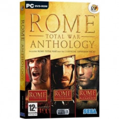 Rome Total War Anthology Pc - Jocuri PC Sega, Strategie, 16+