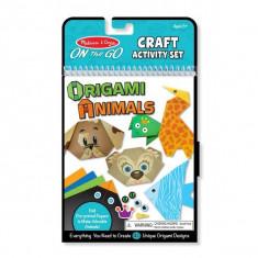 Origami Animale Colorate - Melissa And Doug - Set rechizite