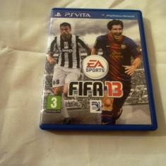 Joc Fifa 13, PS Vita, original, alte sute de jocuri! - Jocuri PS Vita, Sporturi, 3+, Single player
