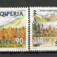 Albania.1999 EUROPA-Natura si Parcuri nationale  SA.578