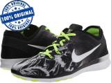 Adidasi dama Nike Free 5.0 - adidasi originali - running - alergare, 37.5, 38, 39, Negru, Textil