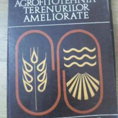 Agrofitotehnica Terenurilor Ameliorate - Chiril Popescu, 393918 - Carti Agronomie