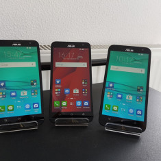 "Asus Zenfone 2 Laser ZE550KL Z00LD Dual Sim 4G LTE5, 5"" 16GB 3GB RAM 13MP NOU - Telefon Asus, Rosu, Neblocat, Quad core"