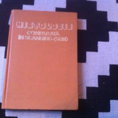 Histologie comparata in scanning sem Manolescu Diculescu ilustrata ed ceres 1982