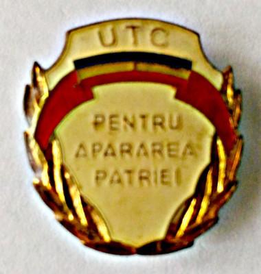 INSIGNA UTC PENTRU APARAREA PATRIEI foto
