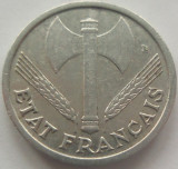 Cumpara ieftin Moneda 1 Franc - FRANTA, anul 1942 *cod 3930 Allu., Europa, Aluminiu