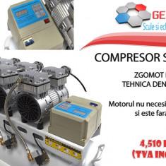 Compresor silentios cu tehnica dentara 120 L - Compresor Service