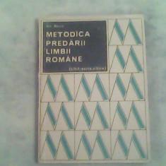 Metodica predarii limbii romane (citit-scris, citire)-Ion Berca