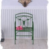BANCA ART NOUVEAU DIN FIER FORJAT VERDE WIF107 - Banca de gradina