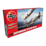 Kit Aeromodele Airfix 5125 Avion Supermarine Spitfire Mkvb Scara 1:48 - Set de constructie