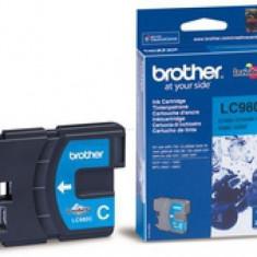Cerneala Brother LC980C cyan   260pgs   DCP145C/ DCP165C/ MFC250C/MFC290C - Cerneala imprimanta