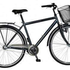 Bicicleta DHS Citadinne 2831 Culoare Gri Inchis – 520mmPB Cod:21528315271 - Bicicleta de oras