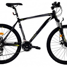 Bicicleta DHS Terrana 2625 (2016) Culoare Negru/Gri/Argintiu 495mmPB Cod:21626254969 - Mountain Bike DHS, 19.5 inch