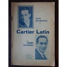 Cartier Latin - Maurice Dekobra - Carte Cinematografie