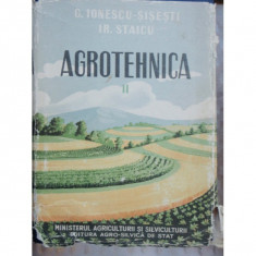 AGROTEHNICA - G. IONESCU SISESTI 2 Volume